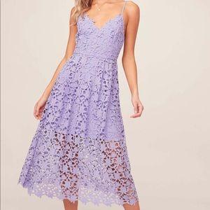 ASTR midi dress